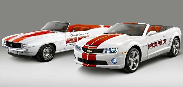 Camaro Gen 1-5 Pace Cars