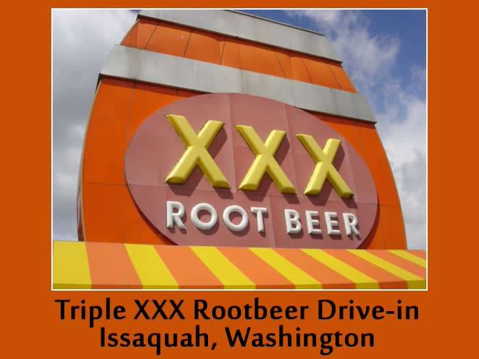 XXX Rootbeer Drive in Logo